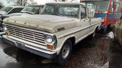 1967 Ford F-100 for sale at AFFORDABLY PRICED CARS LLC in Mountain Home ID