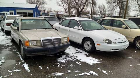 1996 Ford Taurus for sale at AFFORDABLY PRICED CARS LLC in Mountain Home ID