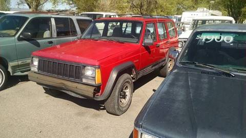 1995 Jeep Cherokee for sale at AFFORDABLY PRICED CARS LLC in Mountain Home ID