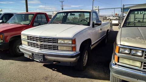 1990 Chevrolet C/K 2500 Series for sale at AFFORDABLY PRICED CARS LLC in Mountain Home ID