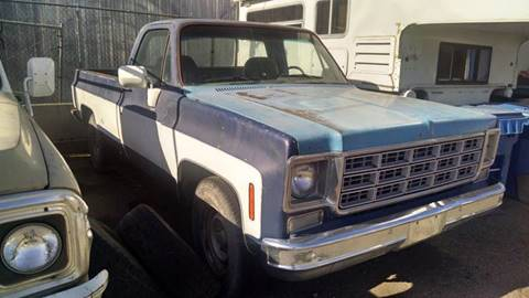 1977 Chevrolet C/K 20 Series for sale at AFFORDABLY PRICED CARS LLC in Mountain Home ID