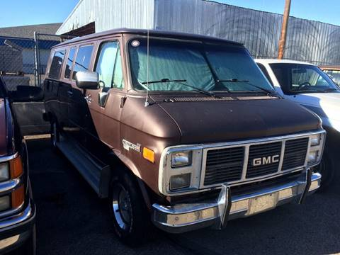 1989 GMC Vandura For Sale In Mountain Home ID