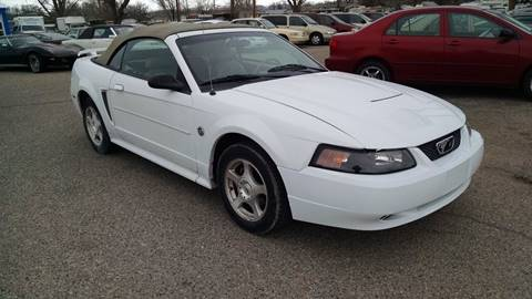2004 Ford Mustang for sale at AFFORDABLY PRICED CARS LLC in Mountain Home ID