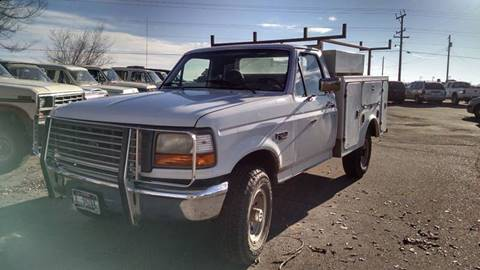 1996 Ford F-250 for sale at AFFORDABLY PRICED CARS LLC in Mountain Home ID
