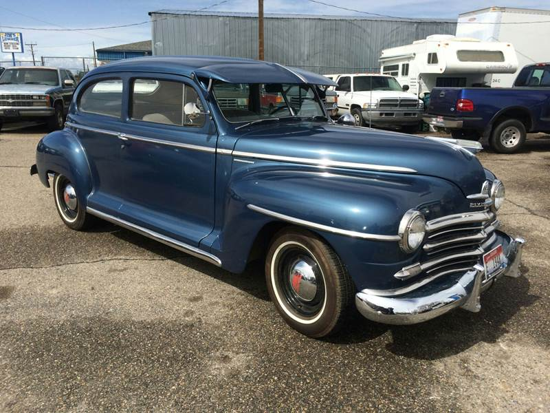 1948 plymouth special deluxe in mountain home id. Black Bedroom Furniture Sets. Home Design Ideas