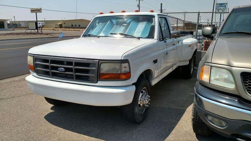 1997 ford f 350 2dr xl standard cab lb in mountain home id affordably priced cars llc. Black Bedroom Furniture Sets. Home Design Ideas