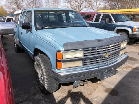 1991 Chevrolet C/K 2500 Series K2500 Scottsdale for sale at AFFORDABLY PRICED CARS LLC in Mountain Home ID