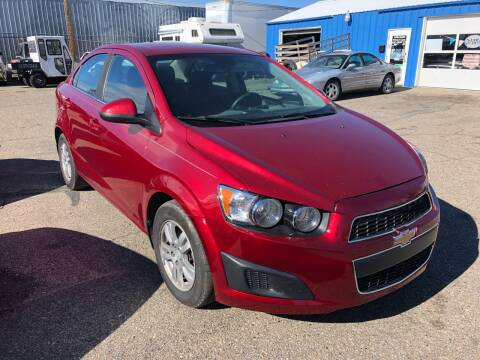 2013 Chevrolet Sonic LT Auto for sale at AFFORDABLY PRICED CARS LLC in Mountain Home ID