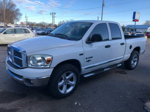 2008 Dodge Ram Pickup 1500 SLT for sale at AFFORDABLY PRICED CARS LLC in Mountain Home ID