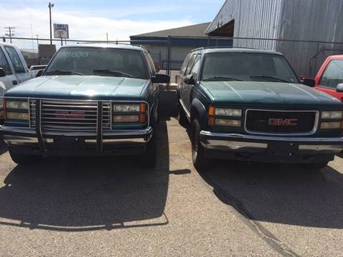 1998 GMC Suburban for sale at AFFORDABLY PRICED CARS LLC in Mountain Home ID