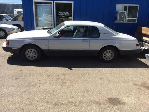 1985 Ford Thunderbird for sale in Mountain Home, ID