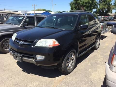 2003 Acura MDX for sale at AFFORDABLY PRICED CARS LLC in Mountain Home ID