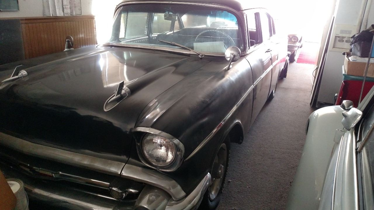 1957 Chevrolet Bel Air 4 Door Sedan In Mountain Home Id Affordably Chevy