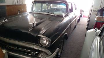 1957 Chevrolet Bel Air for sale at AFFORDABLY PRICED CARS LLC in Mountain Home ID
