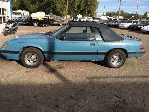 1986 Ford Mustang for sale in Mountain Home, ID
