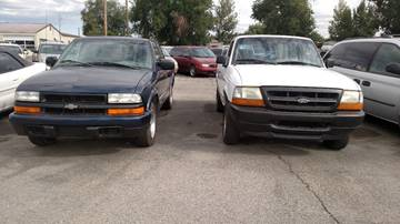 1999 Chevrolet S-10 for sale at AFFORDABLY PRICED CARS LLC in Mountain Home ID