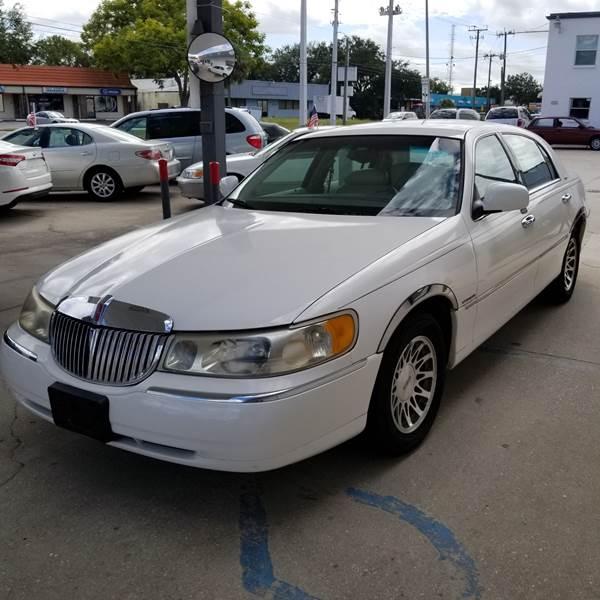 2000 Lincoln Town Car Signature 4dr Sedan In Sarasota Fl Steve S