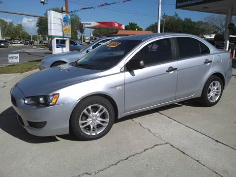 2008 Mitsubishi Lancer for sale at Steve's Auto Sales in Sarasota FL