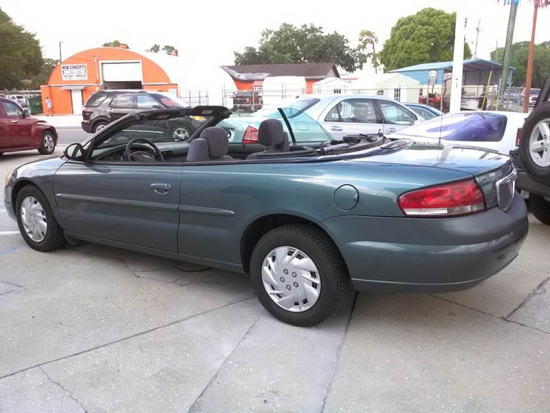 2005 Chrysler Sebring for sale at Steve's Auto Sales in Sarasota FL