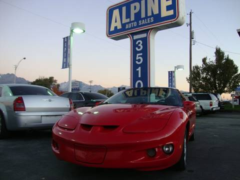 2000 Pontiac Firebird for sale in Salt Lake City, UT