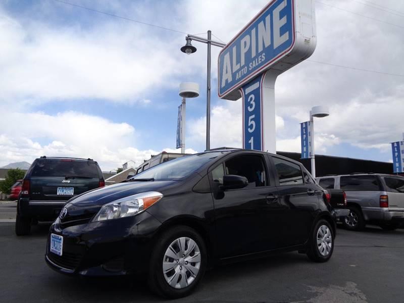 2014 Toyota Yaris LE 4dr Hatchback   Salt Lake City UT