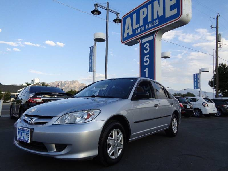 2005 Honda Civic Value Package 4dr Sedan   Salt Lake City UT