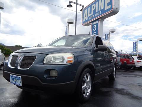 2005 Pontiac Montana SV6 for sale in Salt Lake City, UT