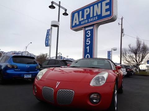 2006 Pontiac Solstice for sale in Salt Lake City, UT