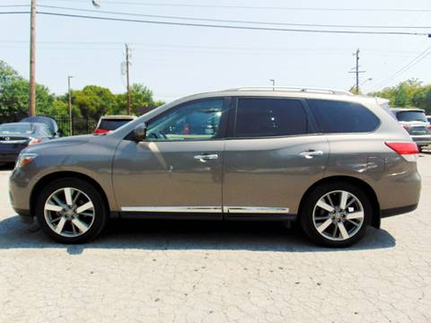2014 Nissan Pathfinder for sale at Tennessee Imports Inc in Nashville TN