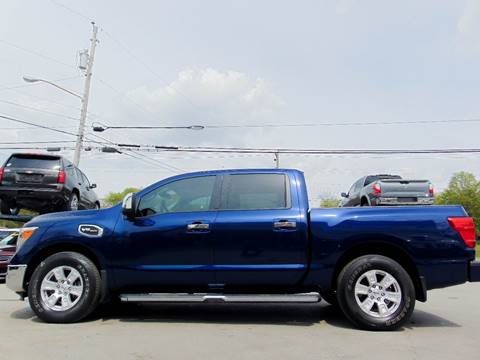 2017 Nissan Titan for sale at Tennessee Imports Inc in Nashville TN