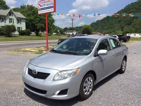Stoystown Auto Sales >> 2009 Toyota Corolla For Sale in Pennsylvania - Carsforsale.com