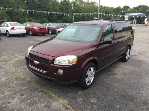 2006 Chevrolet Uplander for sale in Swansea, MA