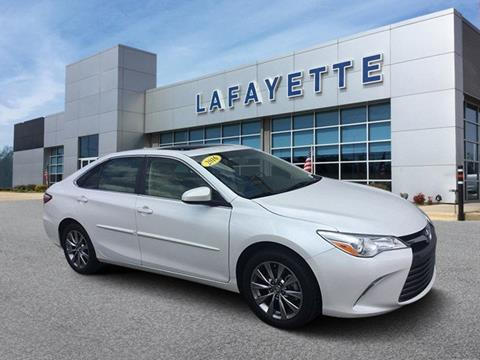 Toyota Fayetteville Nc >> 2016 Toyota Camry For Sale In Fayetteville Nc