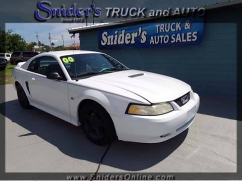 2000 Ford Mustang & Ford Used Cars Bad Credit Auto Loans For Sale Titusville Snideru0027s ... markmcfarlin.com