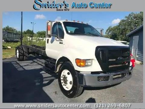 2013 Ford F-750 Super Duty for sale in Titusville, FL