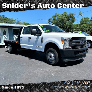 2017 Ford F-350 Super Duty XL for sale at Snider's Auto Center in Titusville FL