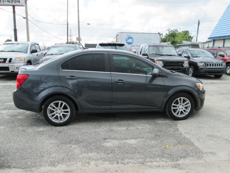 2012 Chevrolet Sonic LT 4dr Sedan w/2LT - Orlando FL
