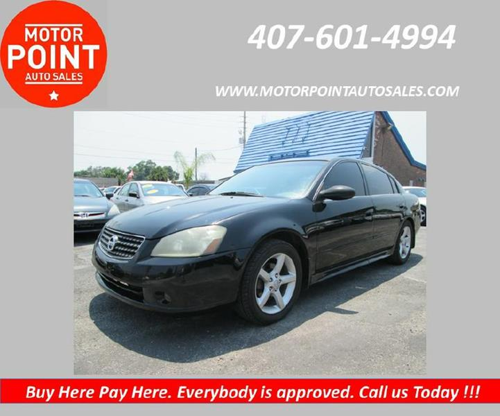 2005 Nissan Altima for sale at Motor Point Auto Sales in Orlando FL
