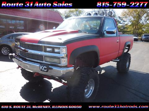 1989 Chevrolet C/K 1500 Series for sale in Mchenry, IL