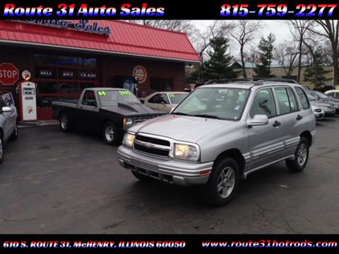 2002 Chevrolet Tracker for sale in Mchenry, IL