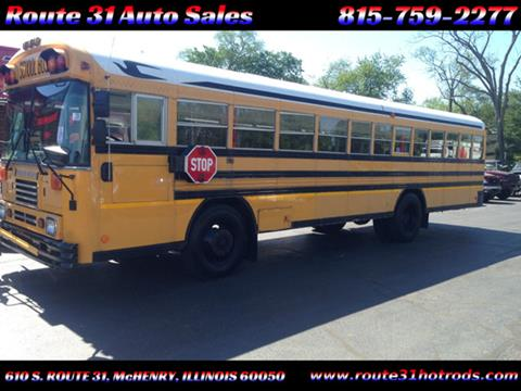 2000 Blue Bird school bus