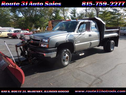 2006 Chevrolet Silverado 3500 for sale in Mchenry, IL