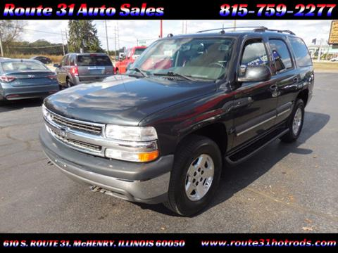 2004 Chevrolet Tahoe for sale in Mchenry, IL