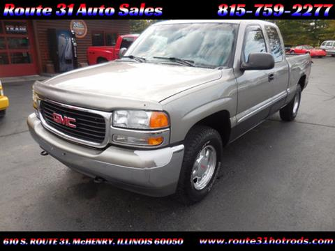 1999 GMC Sierra 1500 for sale in Mchenry, IL