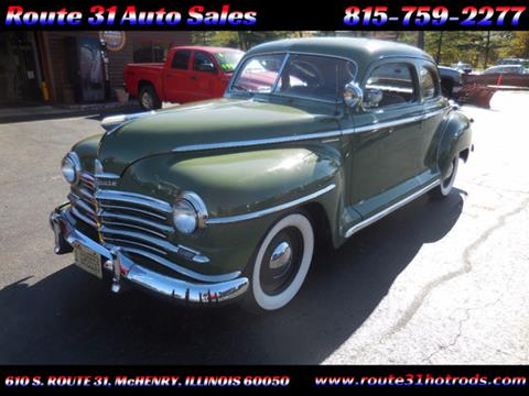 1948 Plymouth Deluxe for sale in Mchenry, IL