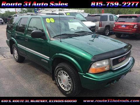 2000 GMC Jimmy for sale in Mchenry, IL