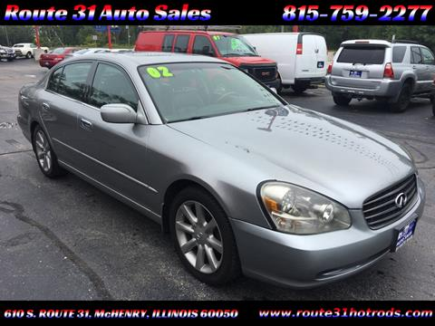 2002 Infiniti Q45 for sale in Mchenry, IL