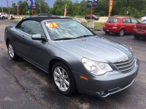 2008 Chrysler Sebring for sale at ROUTE 31 AUTO SALES in McHenry IL