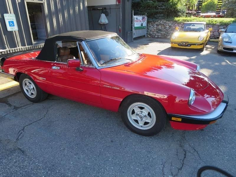 1986 Alfa Romeo Spider Veloce 2dr Convertible - Waterford MI