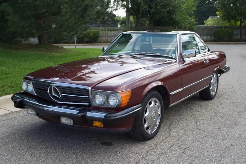1987 Mercedes-Benz 560-Class 560 SL 2dr Convertible - Waterford MI